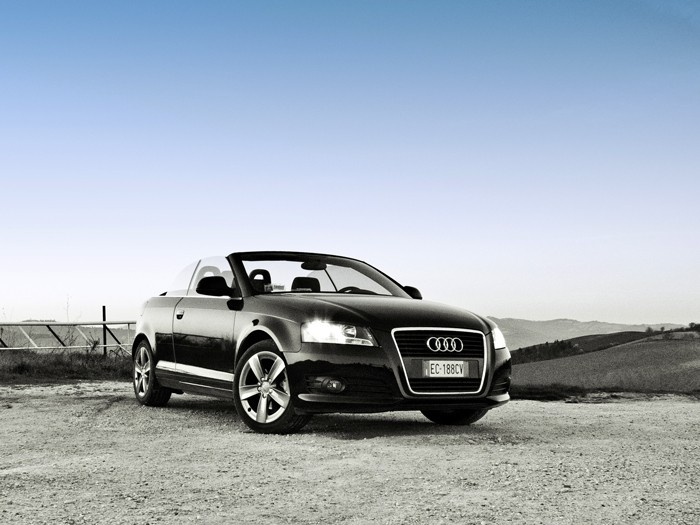 Shooting_Audi A3 Cabriolet